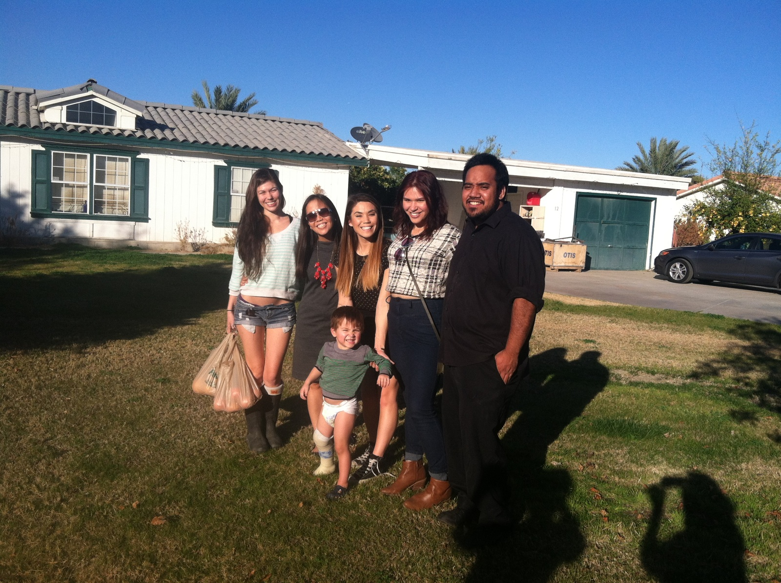 It was great being able to see most of my cousins on my mom's side of the family last week in Palm Springs.